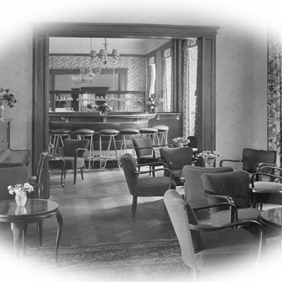 Bellevue Rheinhotel Bar in den 1960ern