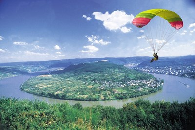 paragliding boppard bellevue rheinhotel. Black Bedroom Furniture Sets. Home Design Ideas