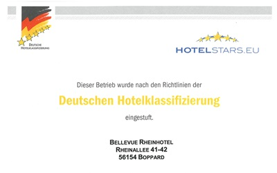 Unsere Hotelsterne