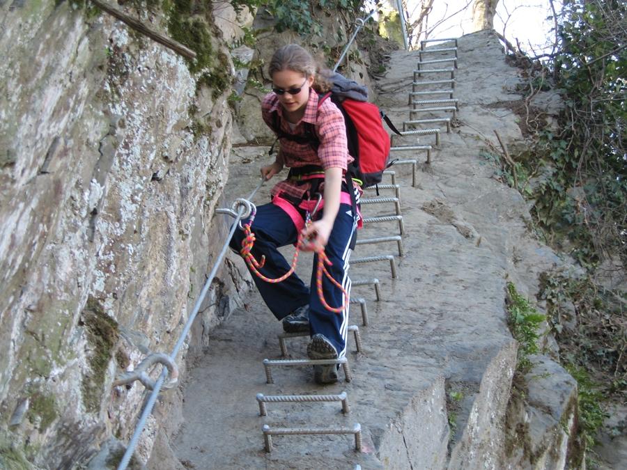 Klettersteig Bilder : Klettersteig für einsteiger bei boppard am rhein guiders